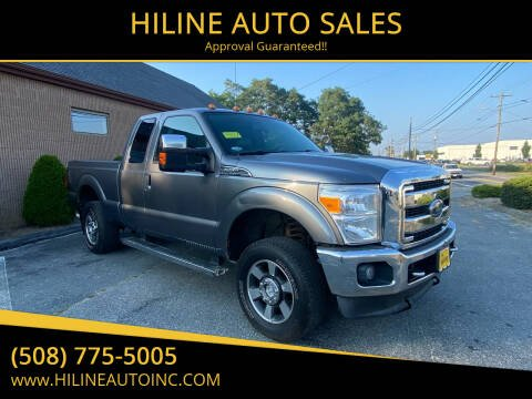 2011 Ford F-250 Super Duty for sale at HILINE AUTO SALES in Hyannis MA