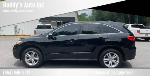 2015 Acura RDX for sale at Buddy's Auto Inc in Pendleton SC