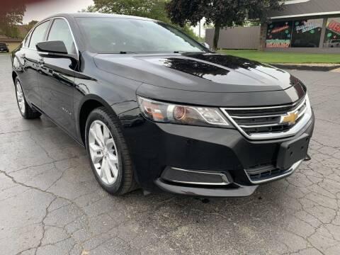 2017 Chevrolet Impala for sale at Hawkins Motors Sales in Hillsdale MI