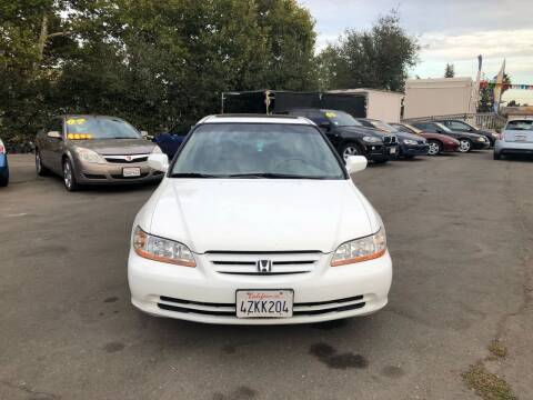 2002 Honda Accord for sale at TOP QUALITY AUTO in Rancho Cordova CA