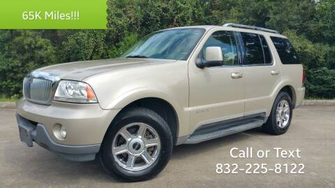 2005 Lincoln Aviator for sale at Houston Auto Preowned in Houston TX