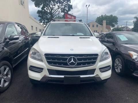 2013 Mercedes-Benz M-Class for sale at Park Avenue Auto Lot Inc in Linden NJ