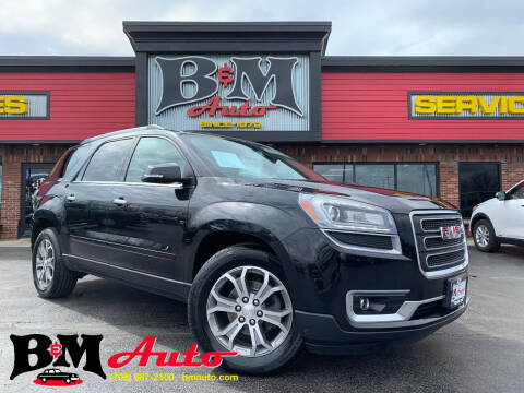 2013 GMC Acadia for sale at B & M Auto Sales Inc. in Oak Forest IL