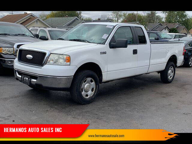 2008 Ford F-150 for sale at HERMANOS AUTO SALES INC in Hamilton OH