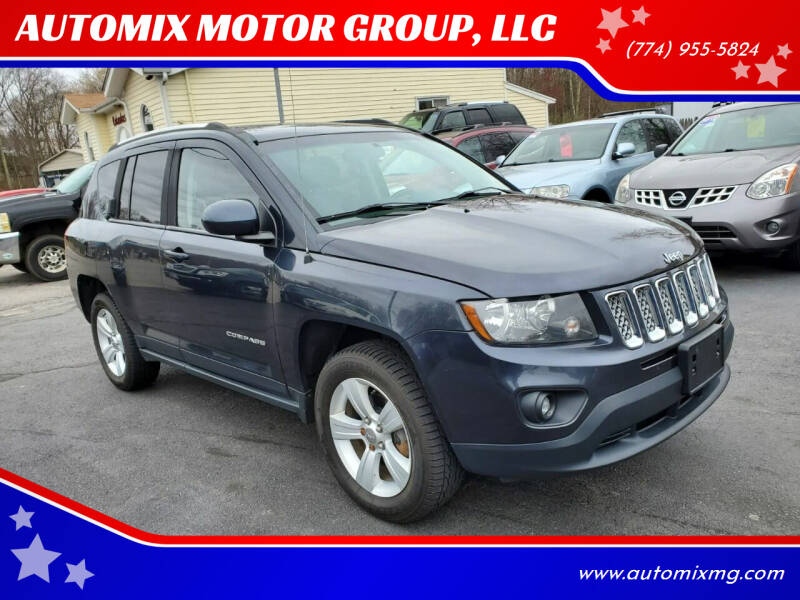 2014 Jeep Compass for sale at AUTOMIX MOTOR GROUP, LLC in Swansea MA