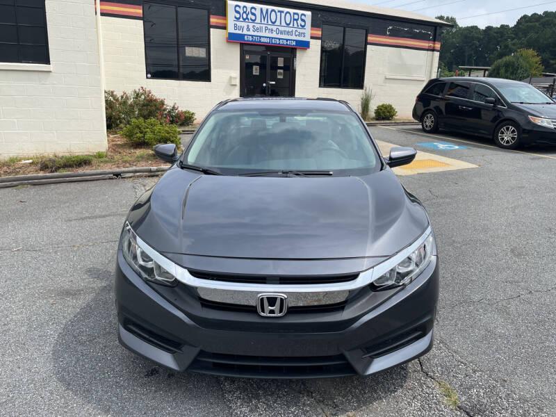 2018 Honda Civic for sale at S & S Motors in Marietta GA