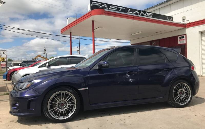 2013 Subaru Impreza for sale at FAST LANE AUTO SALES in San Antonio TX