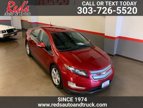 2013 Chevrolet Volt for sale at Red's Auto and Truck in Longmont CO