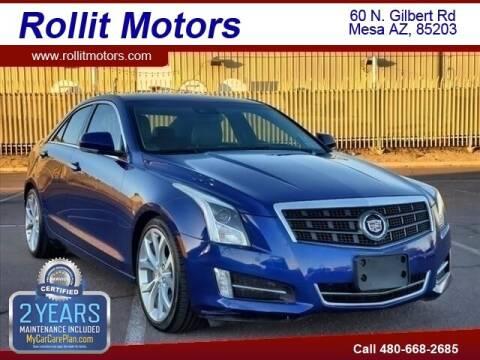 2013 Cadillac ATS for sale at Rollit Motors in Mesa AZ