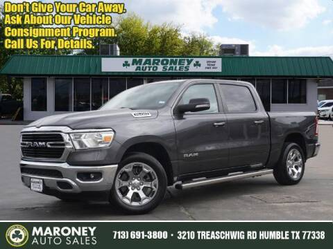 2019 RAM Ram Pickup 1500 for sale at Maroney Auto Sales in Humble TX