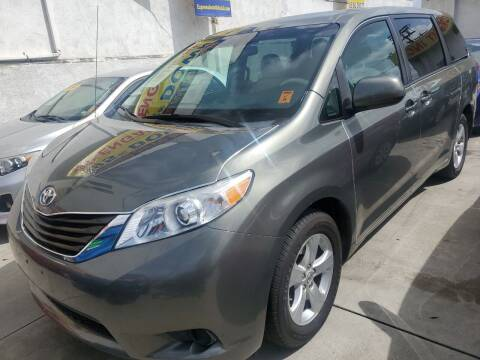 2012 Toyota Sienna for sale at Express Auto Sales in Los Angeles CA