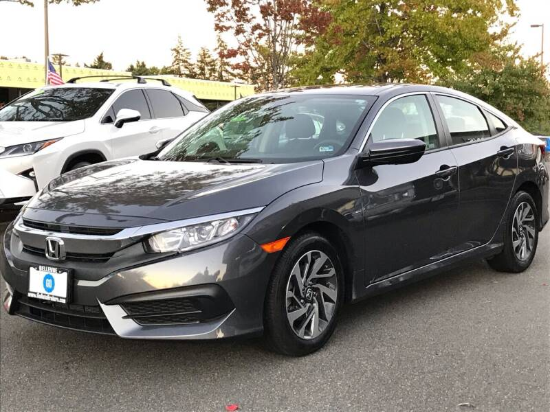2018 Honda Civic for sale at GO AUTO BROKERS in Bellevue WA