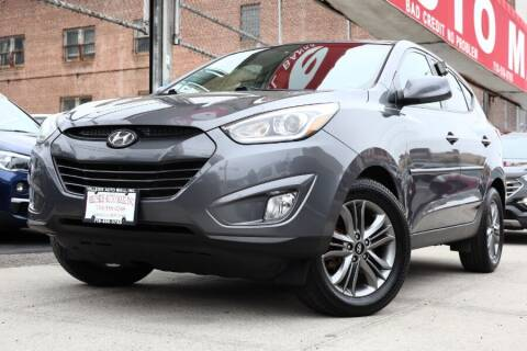 2015 Hyundai Tucson for sale at HILLSIDE AUTO MALL INC in Jamaica NY