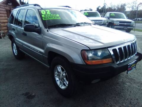 2002 Jeep Grand Cherokee for sale at Larry's Auto Sales Inc. in Fresno CA