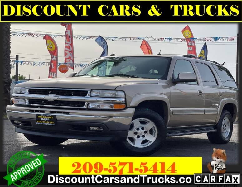 2005 Chevrolet Tahoe for sale at Discount Cars & Trucks in Modesto CA