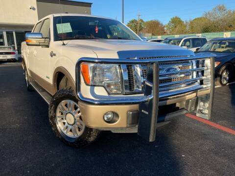 2012 Ford F-150 for sale at KAYALAR MOTORS in Houston TX