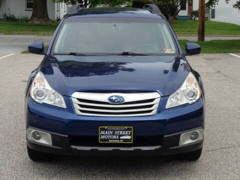 2011 Subaru Outback for sale at MAIN STREET MOTORS in Norristown PA