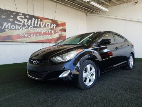2013 Hyundai Elantra for sale at SULLIVAN MOTOR COMPANY INC. in Mesa AZ