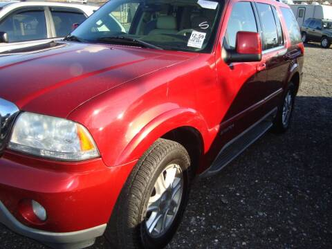 2004 Lincoln Aviator for sale at Branch Avenue Auto Auction in Clinton MD