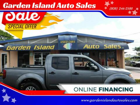 2017 Nissan Frontier for sale at Garden Island Auto Sales in Lihue HI