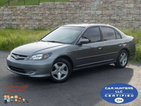 2004 Honda Civic for sale at Cj king of car loans/JJ's Best Auto Sales in Troy MI