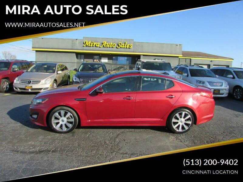 2012 Kia Optima for sale at MIRA AUTO SALES in Cincinnati OH