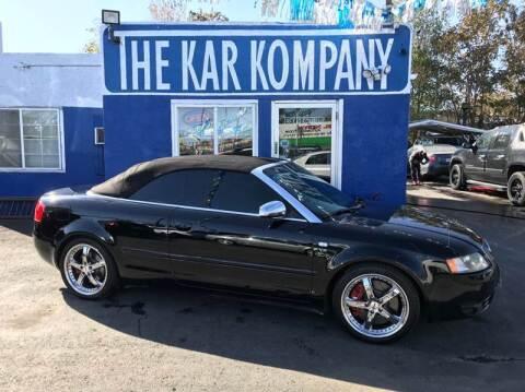 2004 Audi S4 for sale at The Kar Kompany Inc. in Denver CO