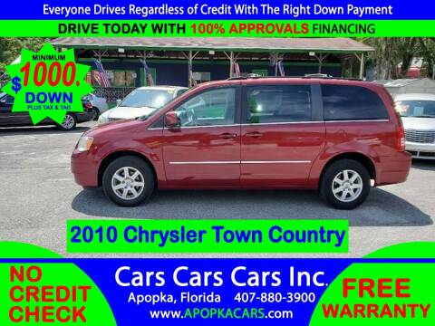 2010 Chrysler Town and Country for sale at CARS CARS CARS INC in Apopka FL
