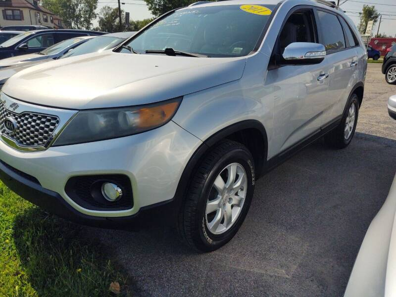 2011 Kia Sorento for sale at Peter Kay Auto Sales in Alden NY