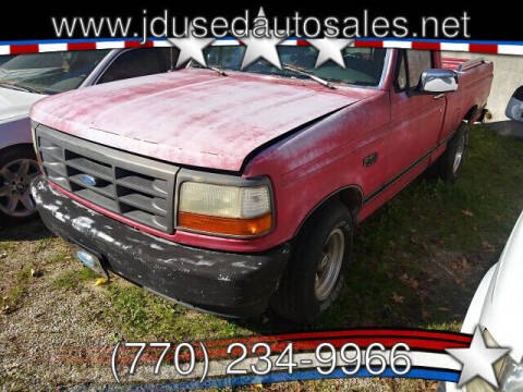 1993 Ford F-150 for sale at J D USED AUTO SALES INC in Doraville GA