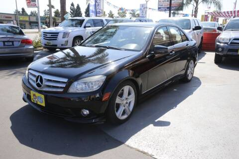 2010 Mercedes-Benz C-Class for sale at CARSTER in Huntington Beach CA