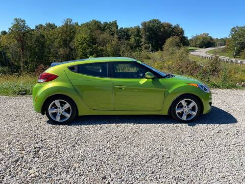2012 Hyundai Veloster for sale at Skyline Automotive LLC in Woodsfield OH