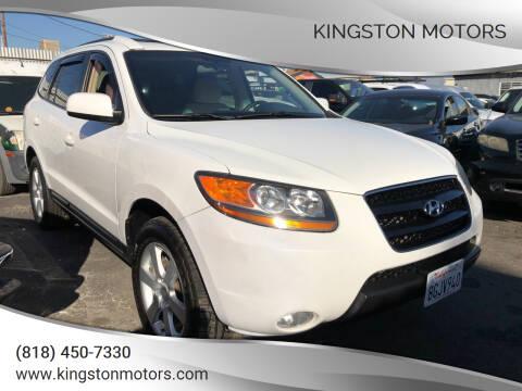 2009 Hyundai Santa Fe for sale at Kingston Motors in North Hollywood CA