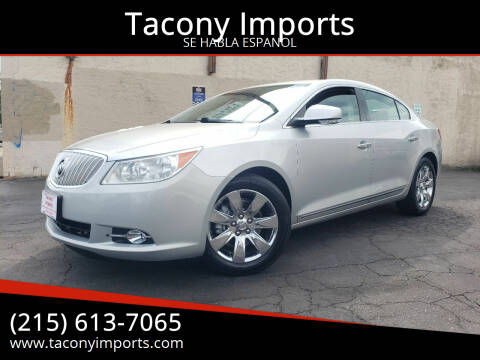 2011 Buick LaCrosse for sale at Tacony Imports in Philadelphia PA