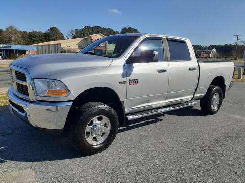 2012 RAM Ram Pickup 2500 for sale at USA 1 Autos in Smithfield VA