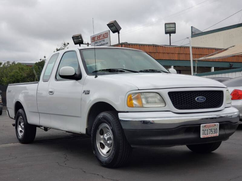 2003 Ford F-150 for sale at First Shift Auto in Ontario CA