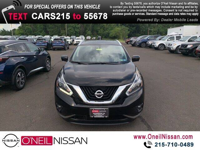 2018 Nissan Murano for sale in Warminster, PA