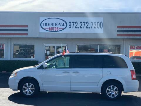 2008 Chrysler Town and Country for sale at Traditional Autos in Dallas TX