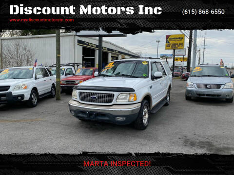 1999 Ford Expedition for sale at Discount Motors Inc in Madison TN