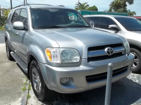 2005 Toyota Sequoia for sale at PJ's Auto World Inc in Clearwater FL