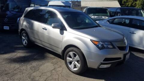 2010 Acura MDX for sale at In-House Auto Finance in Hawthorne CA