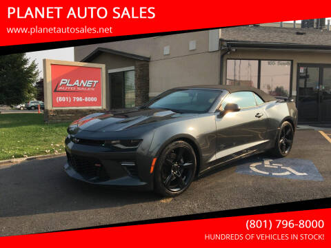 2017 Chevrolet Camaro for sale at PLANET AUTO SALES in Lindon UT