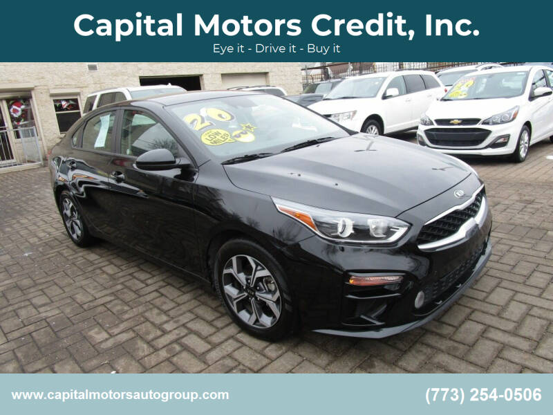 2020 Kia Forte for sale at Capital Motors Credit, Inc. in Chicago IL