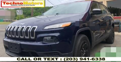 2014 Jeep Cherokee for sale at Techno Motors in Danbury CT