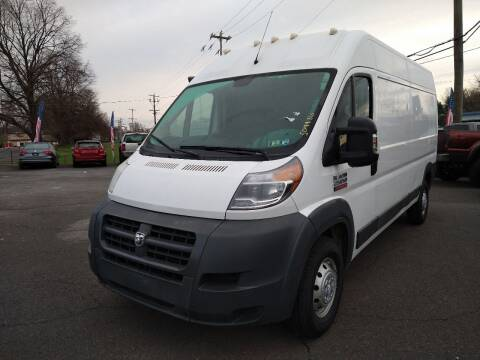 2017 RAM ProMaster Cargo for sale at P J McCafferty Inc in Langhorne PA