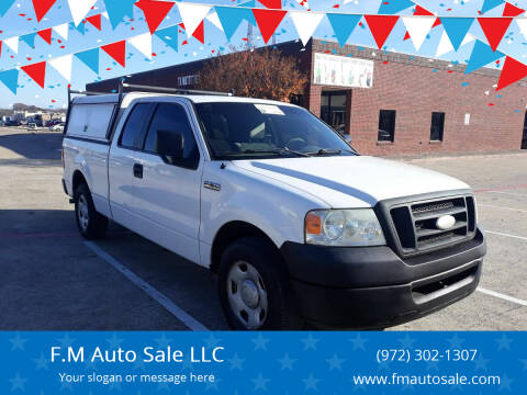 2008 Ford F-150 for sale at F.M Auto Sale LLC in Dallas TX