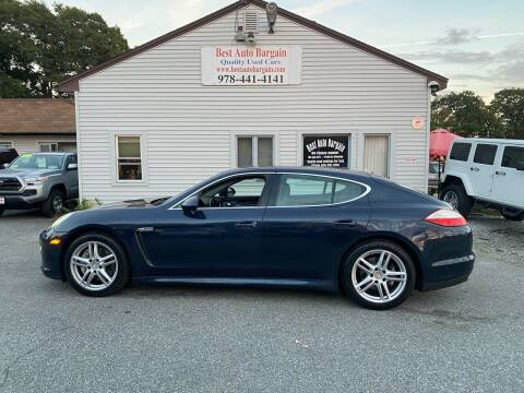 2010 Porsche Panamera for sale at BEST AUTO BARGAIN inc. in Lowell MA