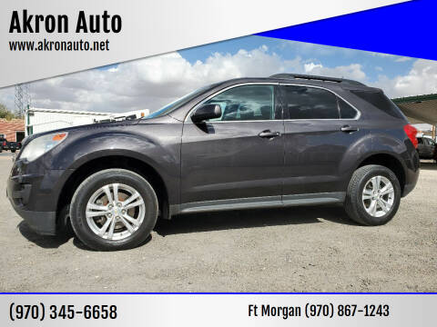 2015 Chevrolet Equinox for sale at Akron Auto in Akron CO