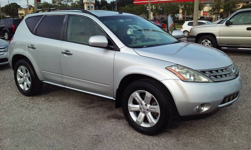 2007 Nissan Murano for sale at Pinellas Auto Brokers in Saint Petersburg FL