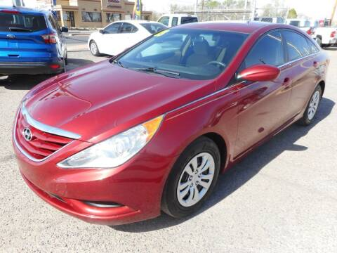 2013 Hyundai Sonata for sale at AUGE'S SALES AND SERVICE in Belen NM